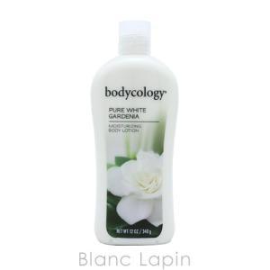 ボディコロジー bodycology モイスチャライジングボディローション ピュアホワイトガーデニア 340g [012584] blanc-lapin