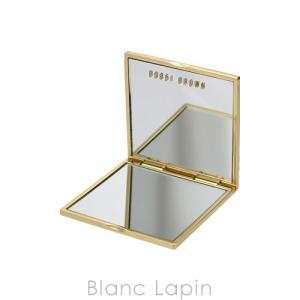 【ノベルティ】 ボビイブラウン BOBBI BROWN ダブルミラー #ゴールド [067858]|blanc-lapin
