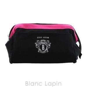 【ノベルティ】 ボビイブラウン BOBBI BROWN コスメポーチ #ブラック/ピンク [056302]|blanc-lapin