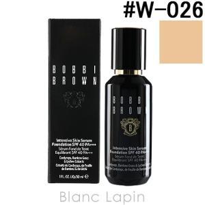 ボビイブラウン BOBBI BROWN インテンシブスキンセラムファンデーションSPF40 #W-026 ウォームアイボリー 30ml [201733]|blanc-lapin