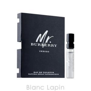【ミニサイズ】 バーバリー BURBERRY ミスターバーバリーインディゴ EDT 2ml [730384]|blanc-lapin