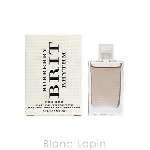 【ミニサイズ】 バーバリー BURBERRY ブリットリズムフォーハー EDT 5ml [437008]|blanc-lapin