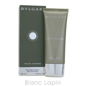 ブルガリ BVLGARI プールオムアフターシェーブバーム 100ml [832581]|blanc-lapin