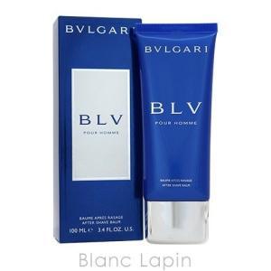 【箱・外装不良】ブルガリ BVLGARI ブループールオムアフターシェーブバーム 100ml [885471/403514]|blanc-lapin