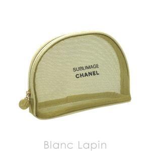 【ノベルティ】 シャネル CHANEL コスメポーチ メッシュ #ゴールド [009551]|blanc-lapin