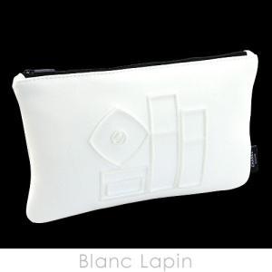 【ノベルティ】 シャネル CHANEL コスメポーチ エンブロイダリー #ホワイト [053097]|blanc-lapin