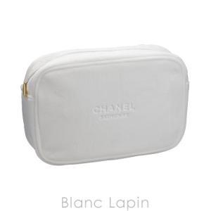 【ノベルティ】 シャネル CHANEL コスメポーチ ベロア #ホワイト [070513]|blanc-lapin