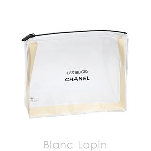 【ノベルティ】 シャネル CHANEL クリアコスメポーチ レベージュ [071671]|blanc-lapin