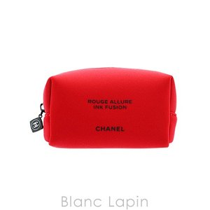 【ノベルティ】 シャネル CHANEL コスメポーチ ルージュアリュールインクフュージョン #レッド [071695]|blanc-lapin
