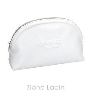 【ノベルティ】 シャネル CHANEL コスメポーチ ラウンド #ホワイト [074245]|blanc-lapin