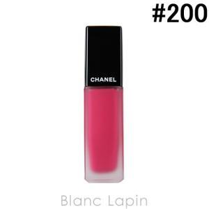 シャネル CHANEL ルージュアリュールインク #200 ピンク ルビー 6ml [652000]【メール便可】【決算クリアランス】|blanc-lapin