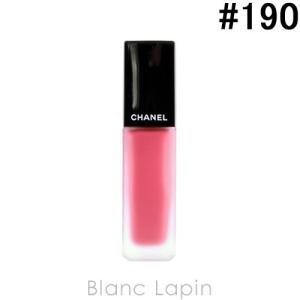 【テスター】 シャネル CHANEL ルージュアリュールインク #190 タンドゥル 6ml [071312]【メール便可】|blanc-lapin