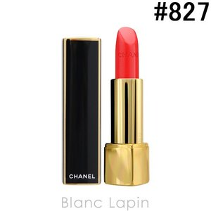 シャネル CHANEL ルージュアリュール #827 ルージュ マニフィーク 3.5g [608274]【メール便可】|blanc-lapin