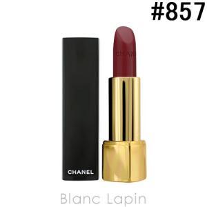 シャネル CHANEL ルージュアリュール #857 ルージュ ノーブル 3.5g [608571]【メール便可】|blanc-lapin