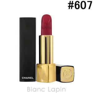 シャネル CHANEL ルージュアリュール #607 カメリア ルージュ メタル ドゥ シャネル 3.5g [516074]【メール便可】 blanc-lapin