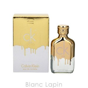 【液漏れ】【ミニサイズ】 カルバンクライン Calvin Klein シーケーワンゴールド EDT 10ml [066073] blanc-lapin