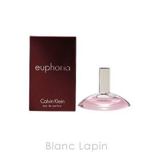 【ミニサイズ】 カルバンクライン Calvin Klein ユーフォリア EDP 4ml [080284] blanc-lapin