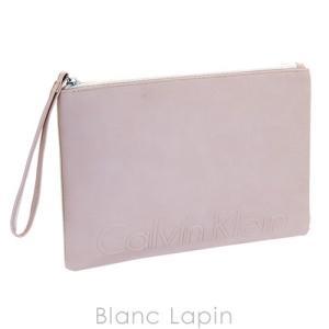 【ノベルティ】 カルバンクライン Calvin Klein コスメポーチ フラット #ピンク [824597] blanc-lapin