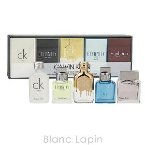 【ミニサイズセット】 カルバンクライン CALVIN KLEIN デラックスフレグランストラベルコレクションフォーメン 10mlx5 [407143/932633]|blanc-lapin