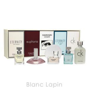 【ミニサイズセット】 カルバンクライン Calvin Klein ウーマンズミニチュアセット 5mlx3/4ml/10ml [407099] blanc-lapin