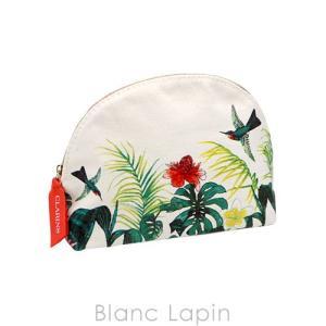 【ノベルティ】 クラランス CLARINS コスメポーチ ポリネシアハーフムーン [326383]【メール便可】 blanc-lapin