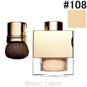 クラランス CLARINS スキンイリュージョンミネラルルースファンデーション #108 13g [032518]|blanc-lapin