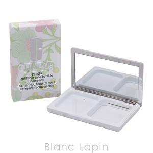クリニーク CLINIQUE プリティサイドバイサイドコンパクト [824686]|blanc-lapin