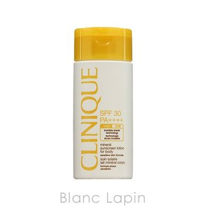クリニーク CLINIQUE SPF30ミネラルサンスクリーンローションフォーボディ 125ml [774127]|blanc-lapin