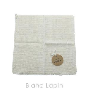ことーね cotone オーガニックコットン 石鹸のいらない洗顔タオルL 紐付き 28×28 [529594]【メール便可】|blanc-lapin