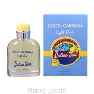 ドルチェ&ガッバーナ Dolce & Gabbana ライトブループールオムイタリアンゼスト EDT 125ml [045854]|blanc-lapin
