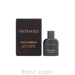 【ミニサイズ】 ドルチェ&ガッバーナ Dolce & Gabbana プールオムインテンソ EDP 4.5ml [783819]|blanc-lapin