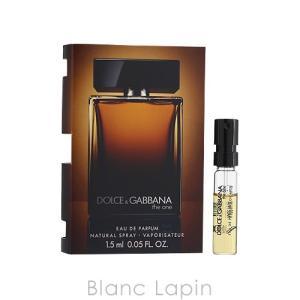【ミニサイズ】 ドルチェ&ガッバーナ Dolce&Gabbana ザワンフォーメン EDP 1.5ml [945811]|blanc-lapin