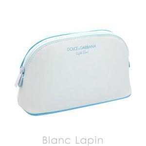 【ノベルティ】 ドルチェ&ガッバーナ Dolce & Gabbana コスメポーチ ライトブルー [202098]|blanc-lapin