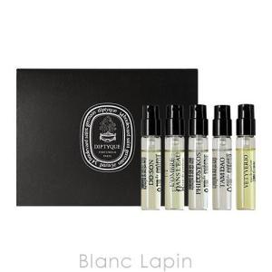【箱・外装不良】【ミニサイズ】 ディプティック diptyque オードパルファンミニチュアセット 2mlx5 [414175]|blanc-lapin