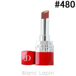 【テスター】 クリスチャンディオール Dior ルージュディオールウルトラバーム #480 フルール ブルー [073996]【メール便可】|blanc-lapin