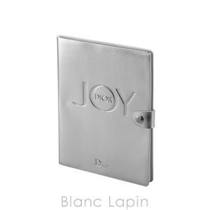 【ノベルティ】 クリスチャンディオール Dior ノートブック JOY #シルバー [056548]【メール便可】|blanc-lapin