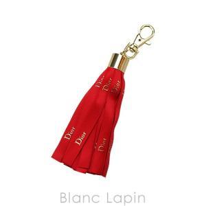 【ノベルティ】 クリスチャンディオール Dior チャーム リボン #レッド [291149]【メール便可】|blanc-lapin