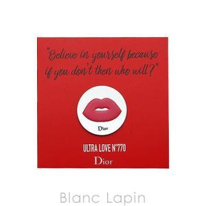 【ノベルティ】 クリスチャンディオール Dior ルージュディオールウルトラルージュステッカー #770 [064970]【メール便可】|blanc-lapin