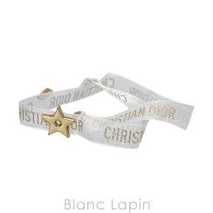 【ノベルティ】 クリスチャンディオール Dior リボンブレスレット スター #ホワイト/ゴールド [481250]【メール便可】【hawks202110】|blanc-lapin