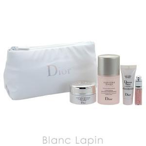 【ノベルティ】 クリスチャンディオール Dior カプチュールトータルポーチセット22 #ホワイト  [054339]