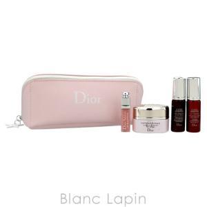 クリスチャンディオール Dior 【ミニサイズセット】ワンエッセンシャルポーチセット #ピンク [072746]|blanc-lapin