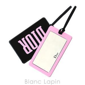 【ノベルティ】 クリスチャンディオール Dior ポケットミラー #ブラック/ピンク [448147]|blanc-lapin