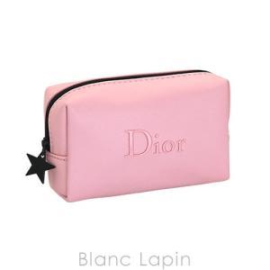 【ノベルティ】 クリスチャンディオール Dior コスメポーチ スクエア #ピンク [053325]...