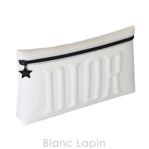 【ノベルティ】 クリスチャンディオール Dior クラッチポーチ #ホワイト [383189] blanc-lapin