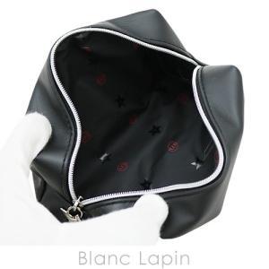 【ノベルティ】 クリスチャンディオール Dior コスメポーチスクエア スターチャーム #ブラック [056470] blanc-lapin 02