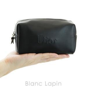 【ノベルティ】 クリスチャンディオール Dior コスメポーチスクエア スターチャーム #ブラック [056470] blanc-lapin 03