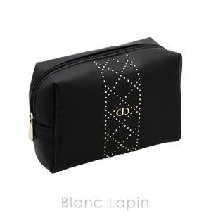 【ノベルティ】 クリスチャンディオール Dior コスメポーチ スクエア #ブラック [418003] blanc-lapin