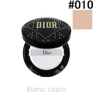 クリスチャンディオール Dior  ディオールスキンフォーエヴァークッション リミテッドエディション  #010 アイボリー 15g [443791]|blanc-lapin