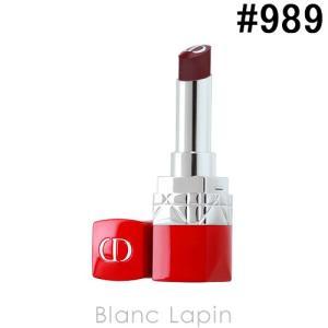 クリスチャンディオール Dior ルージュディオールウルトラバーム #989 バイオレット 3.2g [481120]【メール便可】【決算キャンペーン】|blanc-lapin
