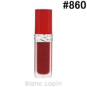 クリスチャンディオール Dior ルージュディオールウルトラリキッド #860 フラート 6ml [481052]【メール便可】 blanc-lapin